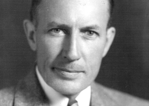 Russell B. Rathbun • 1889-1987 Russell Rathbun was a University of Minnesota track and field athlete who would later become a banker and investment