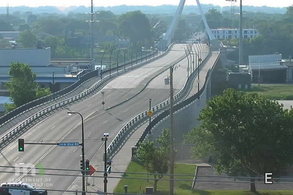 The Lowry Avenue bridge in Minneapolis closed for about five hours Monday as police investigate a fatal crash at Lowry Avenue and Marshall Street NE.