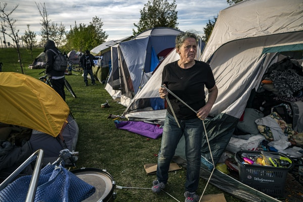 Camp Quarantine was too close to the epicenter of last night's protests over the death of George Floyd, a Met Council spokeswoman said.