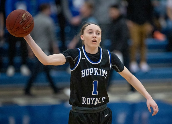 Paige Bueckers is leaving Hopkins with a 62-game winning streak and led the team to five straight 4A state girls' basketball tournaments.