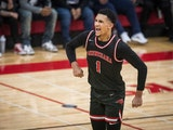 Jalen Suggs of Minnehaha Academy is the first two-time winner of the Star Tribune All-Metro Male Athlete of the Year Award.
