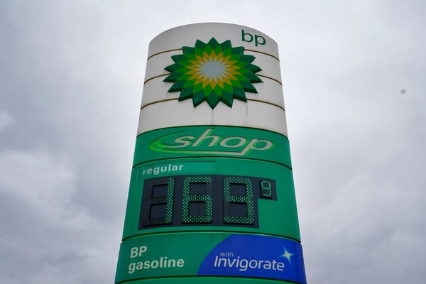BP 36 Lyn Refuel Station owner Lonnie McQuirter charged $1.69 a gallon for gas Friday morning. McQuiter's station is a rare example of below market pr