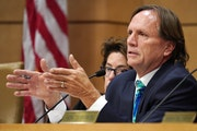 """""""Our entire disabilities services sector is on the verge of collapse,"""" warned Sen. Jim Abeler, chairman of the Human Services Reform Finance and P"""
