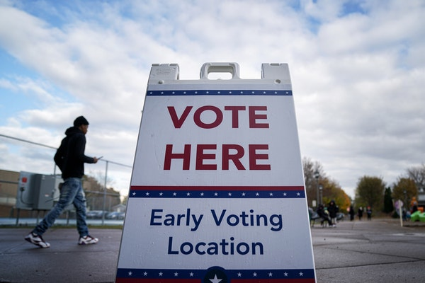 Under state law, any eligible Minnesotan can now elect to vote early by mail or in person.