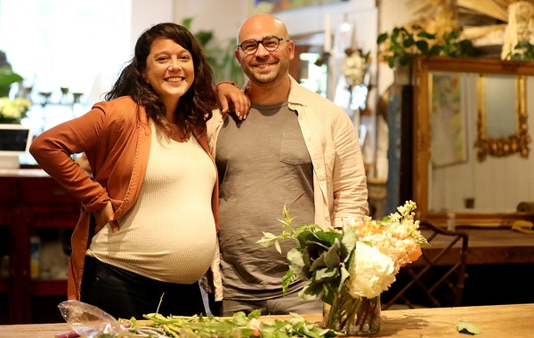 Back in bloom Liz Mattingly and her husband, Julian, did all the work as Lilia Flower Boutique waited for a $20,000 PPP loan approved with Wells Fargo