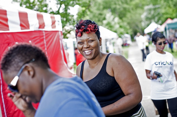 Minneapolis has been home to one of the largest Juneteenth celebrations in the country. Shown is a photo from 2015's celebration.