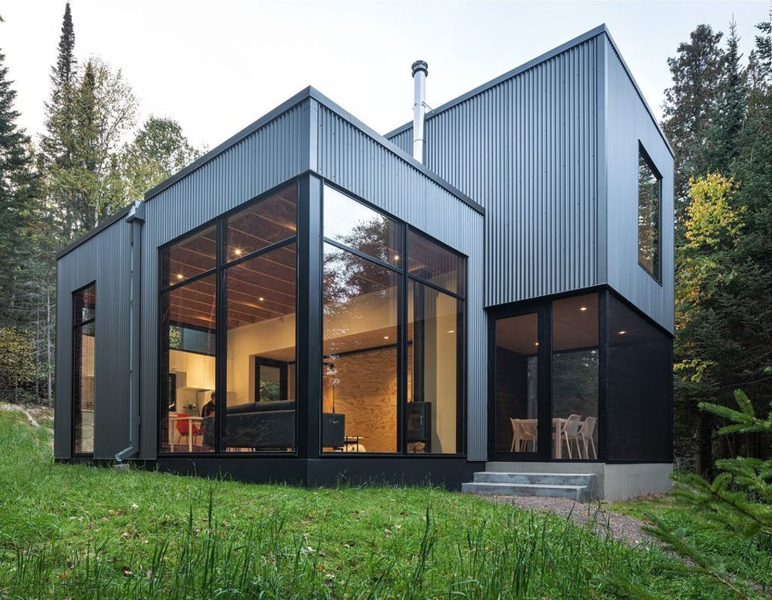 A Small Modern Cabin Near Lutsen Is Just Big Enough Star Tribune