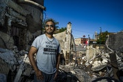 """Ruhel Islam's restaurant was destroyed. The owner of Gandhi Mahal said """"let my building burn, justice needs to be served."""" He plans to rebuild o"""