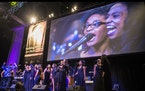 Sounds of Blackness providing the musical inspiration for Martin Luther King Day observances in the Twin Cities in 2018.