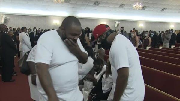 Floyd memorial in North Carolina draws mourners from around U.S.