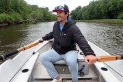 Collin Cody of Grand Rapids learned to captain a drift boat on the trout rivers of Colorado before moving back to his home state.