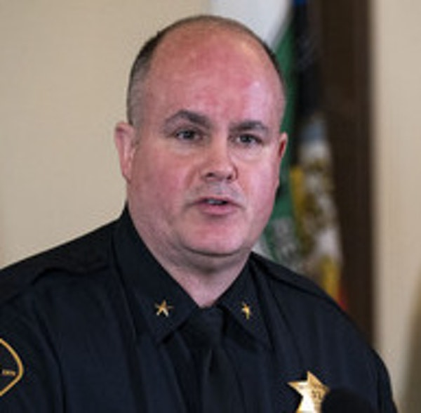 Duluth Police Chief Mike Tusken said no one was injured in the arrest of a domestic assault suspect.