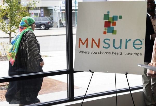 An enrollment office for MNsure