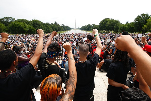 Thousands pour into D.C. for George Floyd protest
