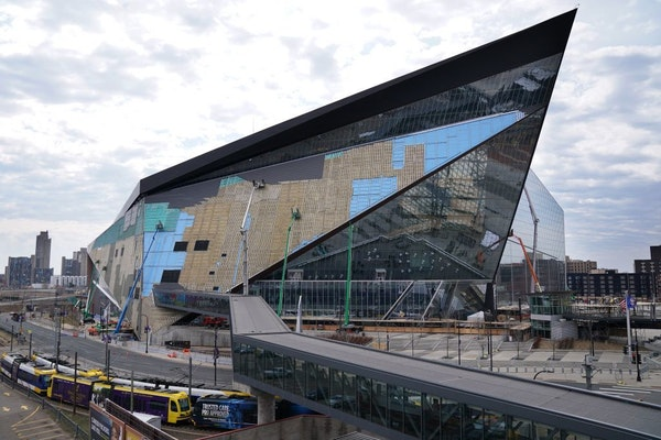U.S. Bank Stadium typically hosts hundreds of gatherings a year from small business meetings and receptions to high school sporting events and convent