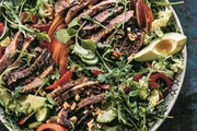 Gingered Thai Steak and Pepper Salad
