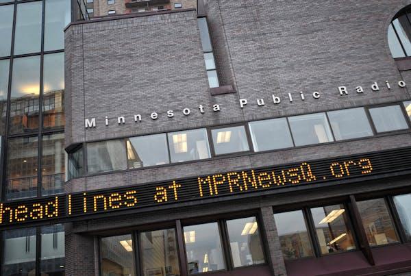 Minnesota Public Radio headquarters in downtown St. Paul.