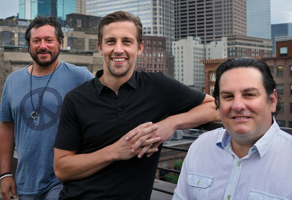 Luke Inveiss, center, and Mike Zweigbaum became perfect complements to IFA founder Blake Baratz, left.