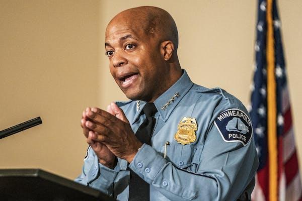 Minneapolis Police Chief Medaria Arradondo shown in June.