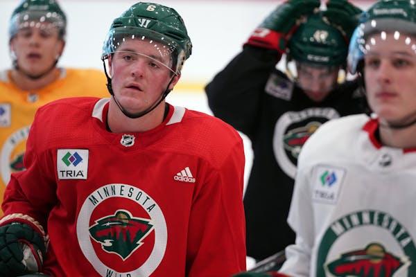The Wild, and forward Ryan Donato, already had one training camp at Tria Rink this season, last September.