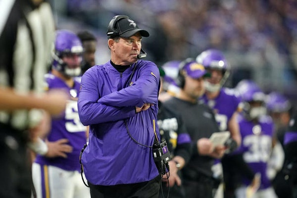 Vikings coach Mike Zimmer is in the final year of his contract, but the team has yet to announce an extension.