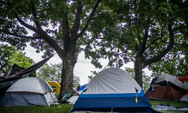 Tent encampments are a stopgap to a housing solution.