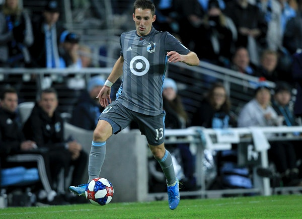 """More than four months after we last saw them play, Ethan Finlay and Minnesota United return to action Sunday night, albeit in an MLS """"bubble"""" in Orlan"""