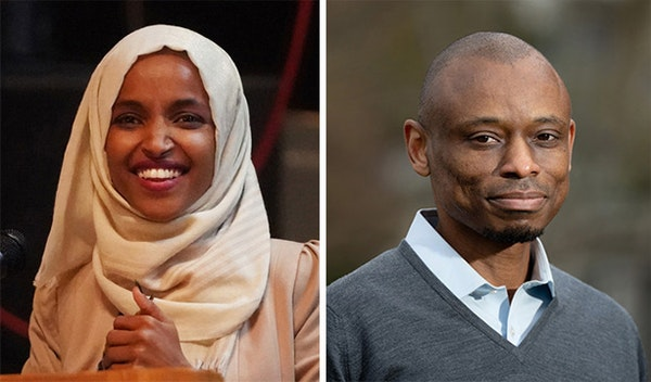 Opposition to Rep. Ilhan Omar is fueling an unprecedented surge in donations to her top Democratic opponent, Antone Melton-Meaux.