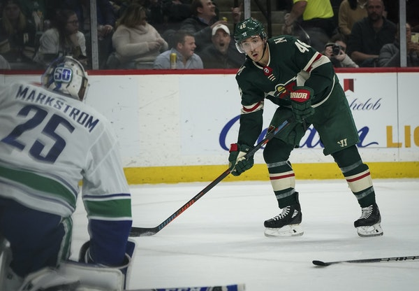 Jared Spurgeon and the Wild will be facing Vancouver goalie Jacob Markstrom in the NHL's play-in series starting Sunday in Edmonton.