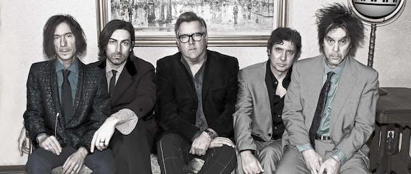 The Suburbs (from left): Steve Brantseg, Jeremy Ylvisaker, Chan Poling, Steve Price and Hugo Klaers. (photo by Jay Smiley)
