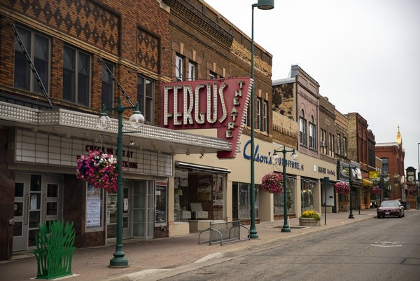 Fergus Falls is a small town in northern Minnesota with a quaint and walkable downtown area.