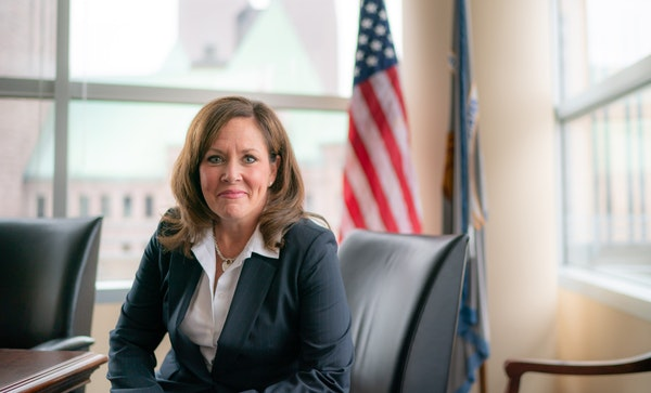 File photo of U.S. Attorney Erica MacDonald, who on Wednesday announced the formation of a multiagency task force to combat a surge in gun violence in
