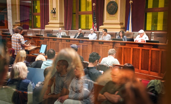 The Minneapolis City Council in August 2019