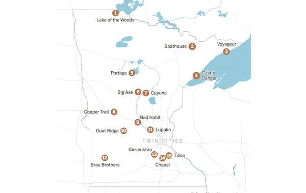 15 small-town Minnesota breweries making big impressions