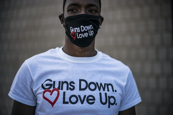 A community rally calling for the end of gun violence in the Twin Cities was held July 10 in Minneapolis.