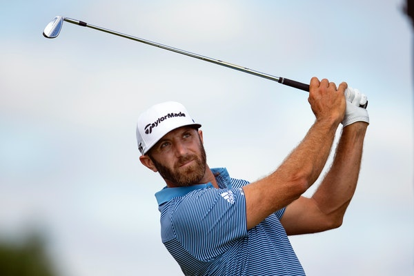 Dustin Johnson, who played in the first round of the 2020 3M Open, withdrew citing an injury. He is back in the field for this year's tournament.