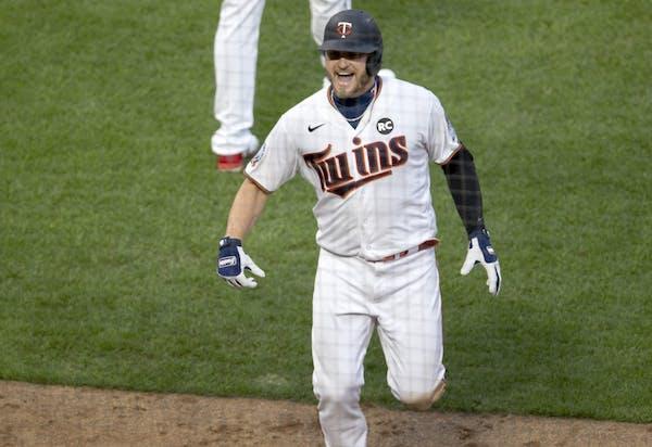 Josh Donaldson celebrated after hitting a home run on July 28.