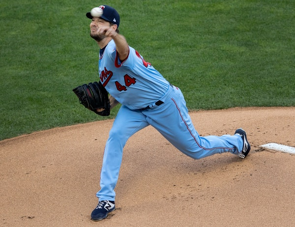 Rich Hill made his first career Twins start Wednesday night, shutting out the Cardinals on two hits over five innings