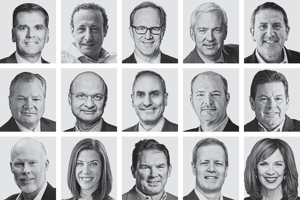 Of the 50 CEOs ranked in this year's list, 31 saw their total compensation increase.