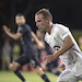 """Minnesota United defender Chase Gasper (77) said of the Loons' next opponent, """"Whether it was Columbus or some other team, we're going to come o"""