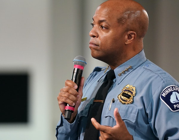 Minneapolis Police Chief Medaria Arradondo would be ineligible to oversee the City Council's newly imagined public safety department.