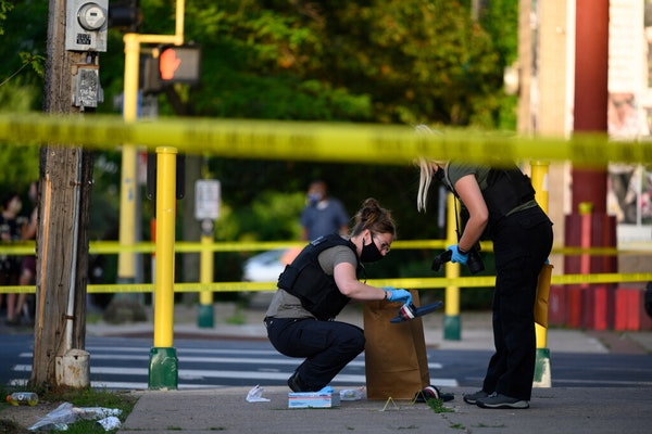 Minneapolis police investigated the latest fatal shooting, one Wednesday at 35th Street and S. Chicago Avenue that left a 17-year-old dead.