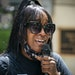 Diamond Reynolds, who was with Philando Castile the night he was killed and filmed the aftermath on Facebook Live, got emotional during a July 6 rally
