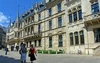 The Grand Ducal Palace of Luxembourg, a country about the size of Rhode Island at 998 square miles, is in the historic center of Luxembourg City.