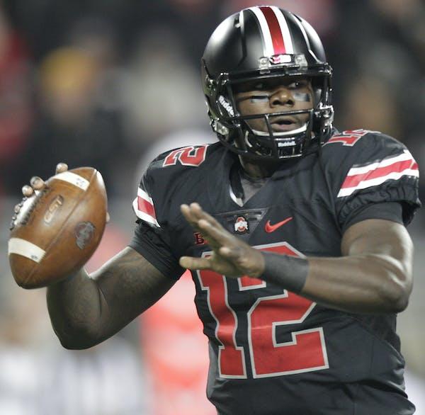 Ohio State quarterback Cardale Jones