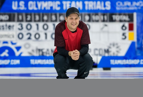 John Shuster's comeback hit a pinnacle when he delivered the final rock during the U.S. Olympic curling team trials. Team Shuster beat Team McCormic