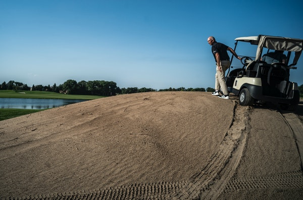 Tom Lehman's test:test golf's best next summer at TPC Twin Cities, where last month he surveyed some recent changes to the course's layout.