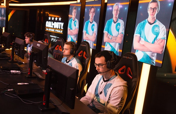 Esports teams battled during a tournament in California.