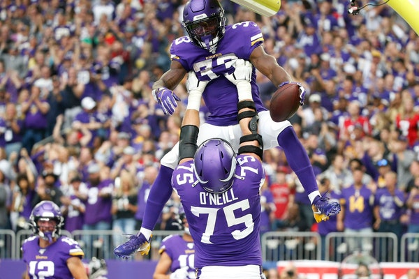 Vikings offensive line has continuity but still needs improvement