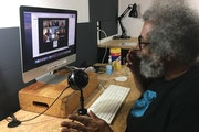 """David Grant teaches """"Elements of Screenwriting,"""" one of 20 online filmmaking courses offered this summer at FilmNorth."""